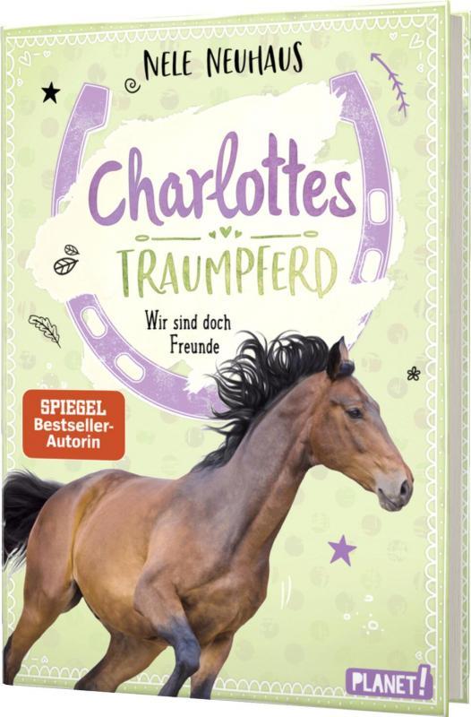 Cover-Bild Charlottes Traumpferd 5: Wir sind doch Freunde