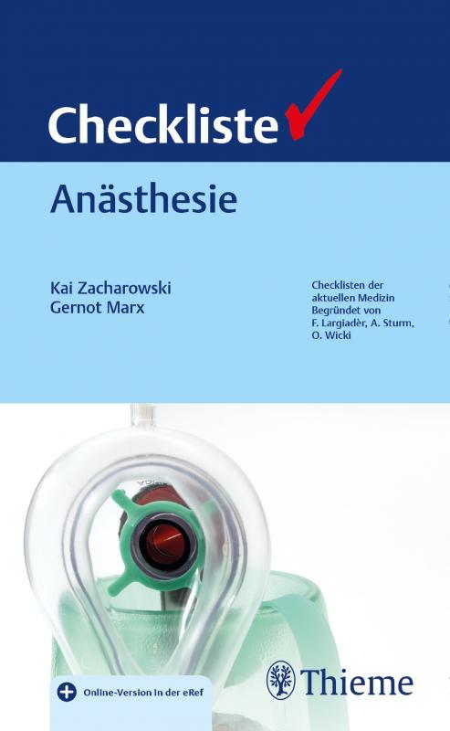Cover-Bild Checkliste Anästhesie