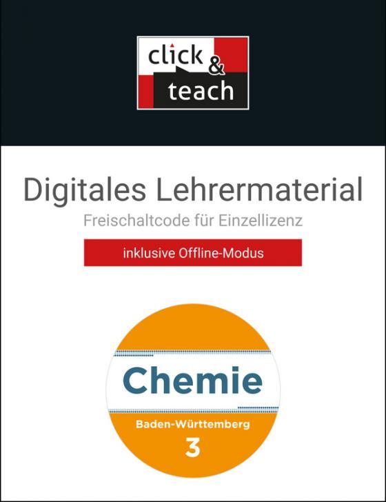Cover-Bild Chemie Baden-Württemberg - neu / Chemie Baden-Württemberg click & teach 3 Box