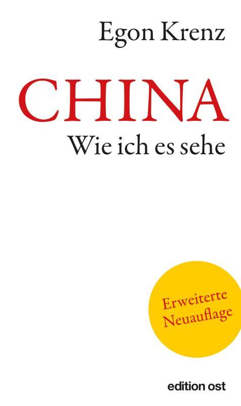 Cover-Bild CHINA. Wie ich es sehe