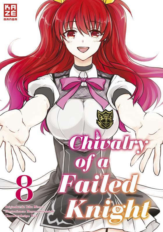 Cover-Bild Chivalry of a Failed Knight – Band 8