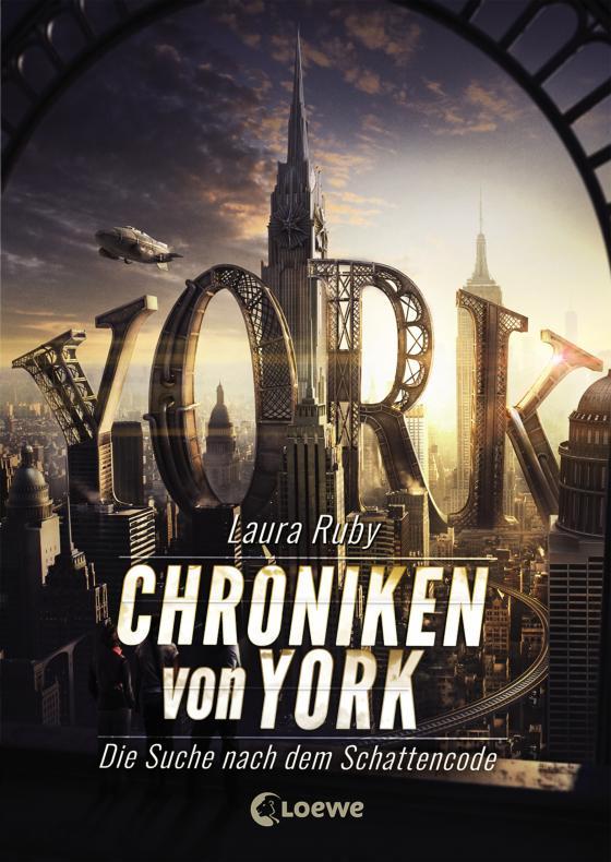 Cover-Bild Chroniken von York - Die Suche nach dem Schattencode