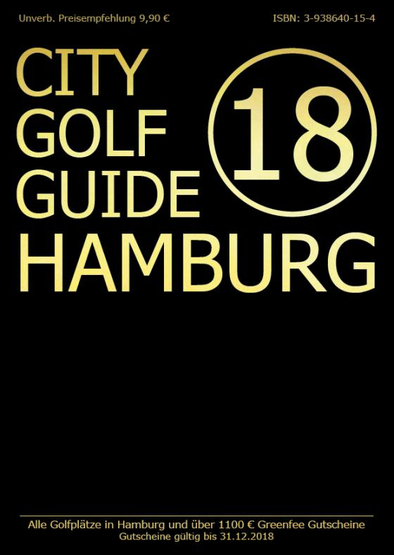 Cover-Bild City Golf Guide 2018