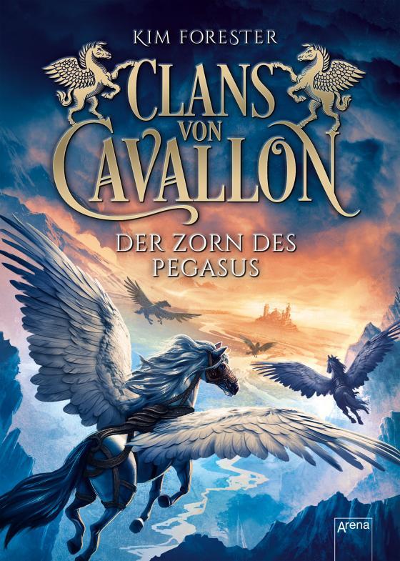 Cover-Bild Clans von Cavallon / Clans von Cavallon (1). Der Zorn des Pegasus