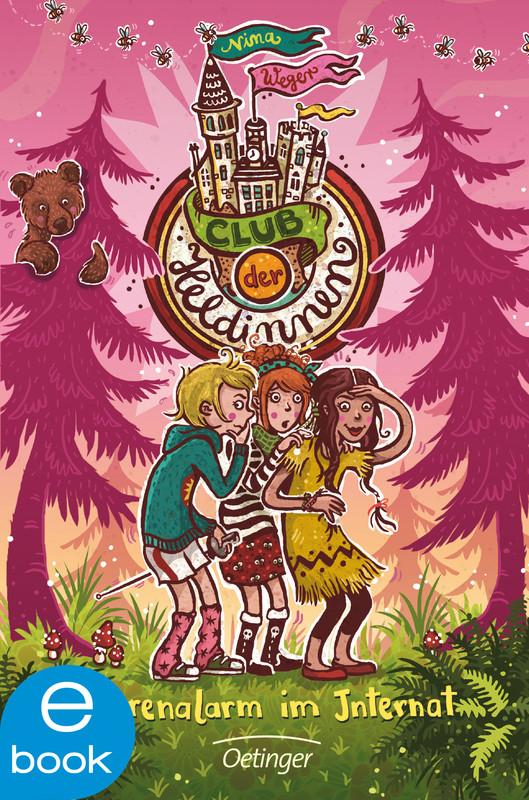 Cover-Bild Club der Heldinnen. Bärenalarm im Internat