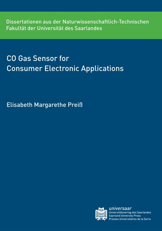 Cover-Bild CO Gas Sensor for Consumer Electronic Applications