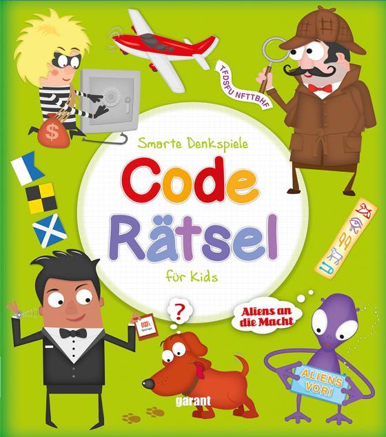 Cover-Bild Coderätsel für Kids