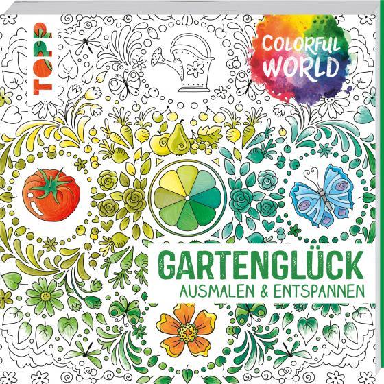 Cover-Bild Colorful World - Gartenglück