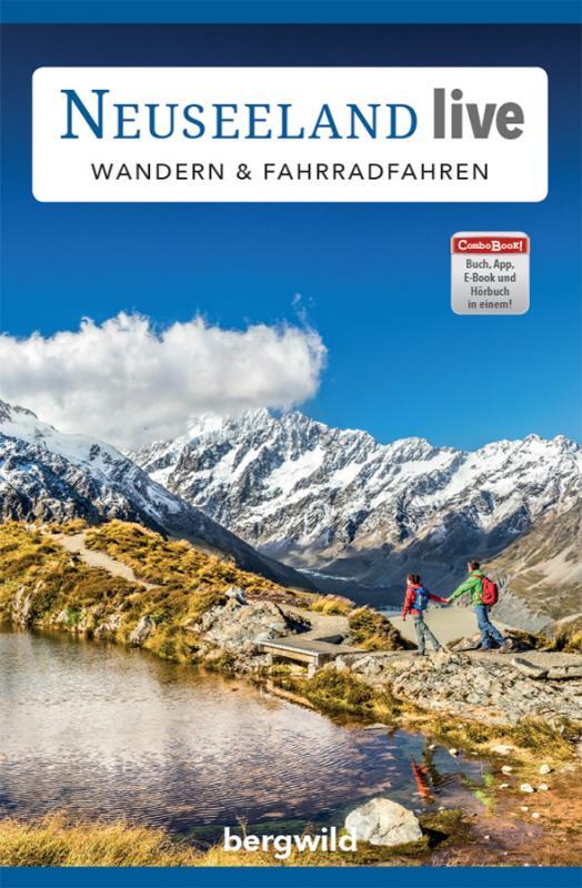 "Cover-Bild ComboBOOK ""Neuseeland live: Wandern & Fahrradfahren"""