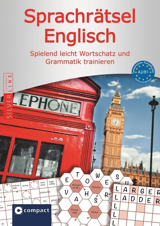 Cover-Bild Compact Sprachrätsel Englisch - Niveau A2 & B1