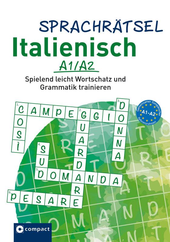 Cover-Bild Compact Sprachrätsel Italienisch A1/A2
