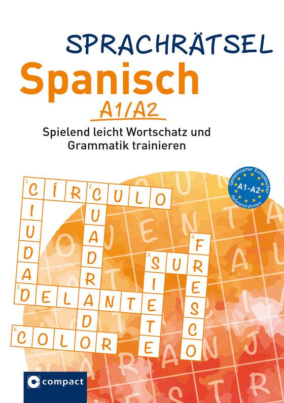 Cover-Bild Compact Sprachrätsel Spanisch A1/A2