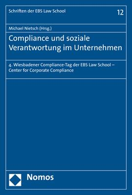 Cover-Bild Compliance und soziale Verantwortung im Unternehmen
