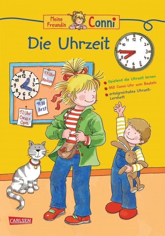 Cover-Bild Conni Gelbe Reihe: Die Uhrzeit