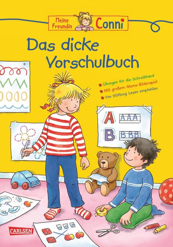 Cover-Bild Conni Gelbe Reihe: Lernspaß - Das dicke Vorschulbuch