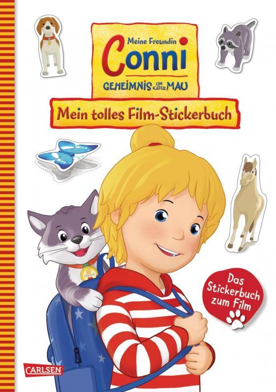 Cover-Bild Conni Gelbe Reihe: Meine Freundin Conni - Geheimnis um Kater Mau. Mein tolles Film-Stickerbuch
