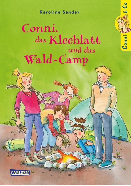 Cover-Bild Conni & Co 14: Conni, das Kleeblatt und das Wald-Camp