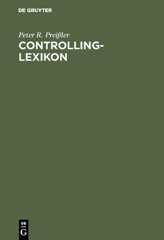 Cover-Bild Controlling-Lexikon
