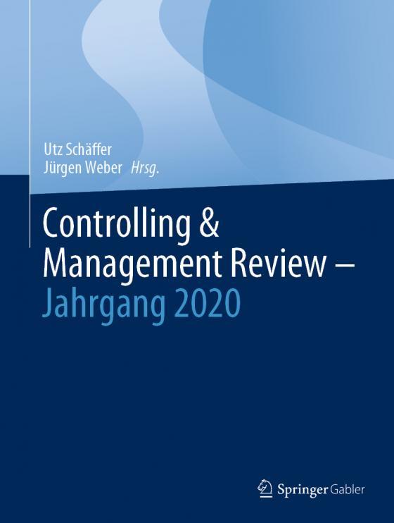 Cover-Bild Controlling & Management Review – Jahrgang 2020