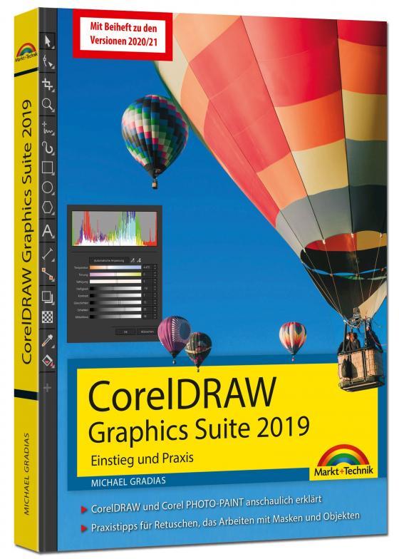 Cover-Bild CorelDRAW Graphics Suite 2021 - 2019 – Einstieg und Praxis