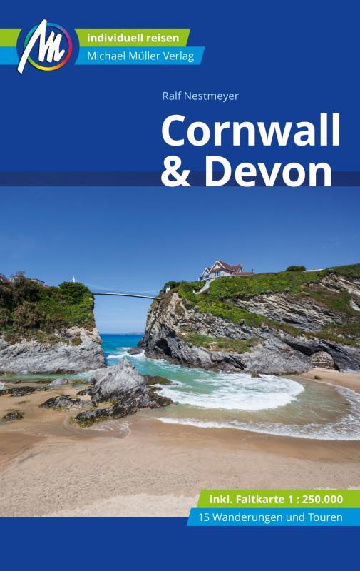 Cover-Bild Cornwall & Devon Reiseführer Michael Müller Verlag