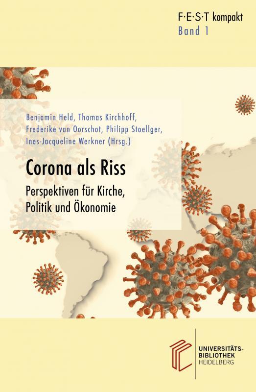Cover-Bild Corona als Riss