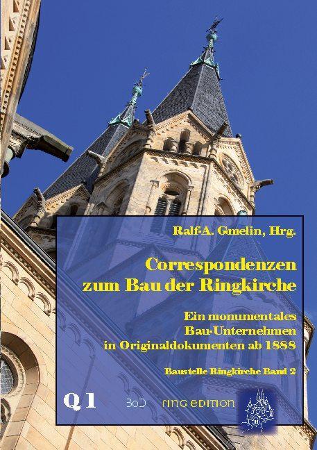 Cover-Bild Correspondenzen zum Bau der Ringkirche