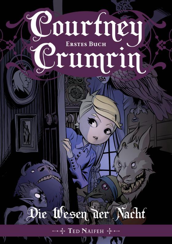 Cover-Bild Courtney Crumrin - Band 1: Die Wesen der Nacht