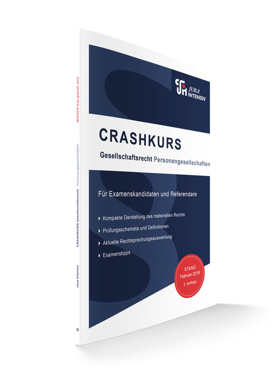 Cover-Bild CRASHKURS Gesellschaftsrecht