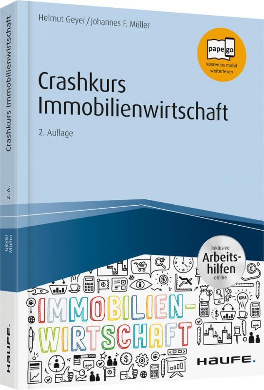 Cover-Bild Crashkurs Immobilienwirtschaft - inkl. Arbeitshilfen online