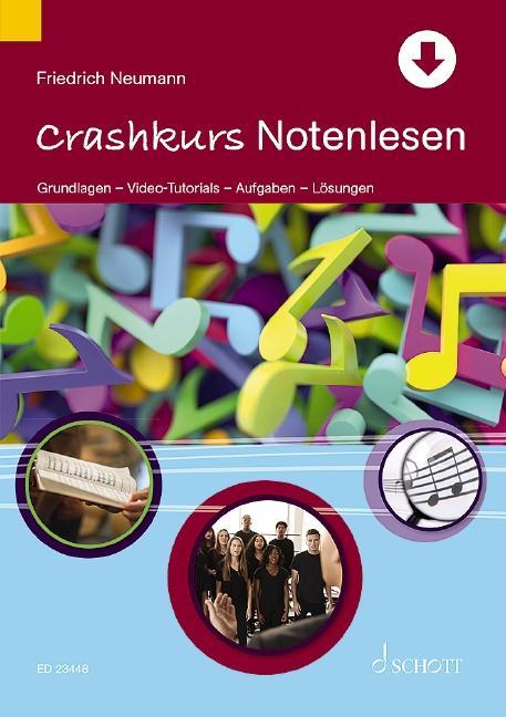Cover-Bild Crashkurs Notenlesen