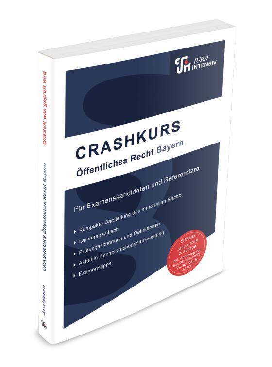 Cover-Bild CRASHKURS Öffentliches Recht - Bayern