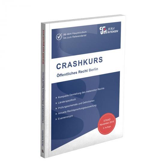 Cover-Bild CRASHKURS Öffentliches Recht - Berlin