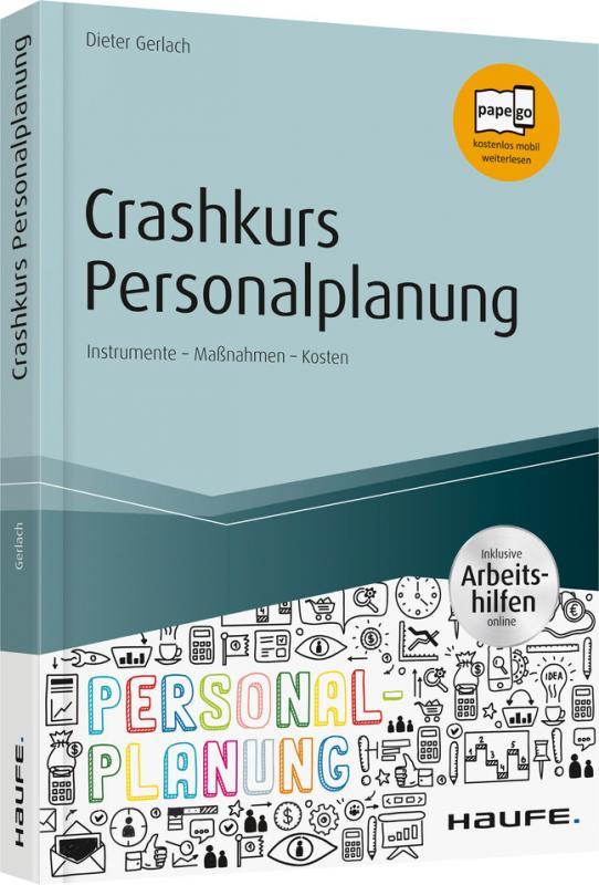 Cover-Bild Crashkurs Personalplanung - inkl. Arbeitshilfen online