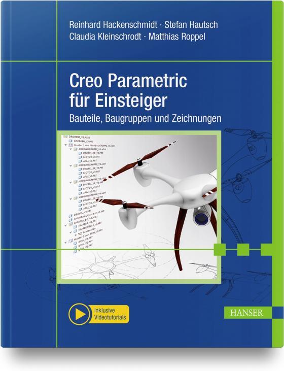 Cover-Bild Creo Parametric für Einsteiger