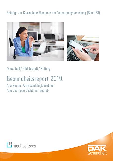 Cover-Bild DAK-Gesundheitsreport 2019