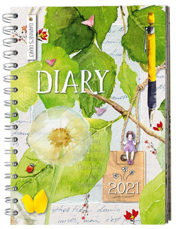 Cover-Bild Daphne's Diary – Taschenkalender 2021