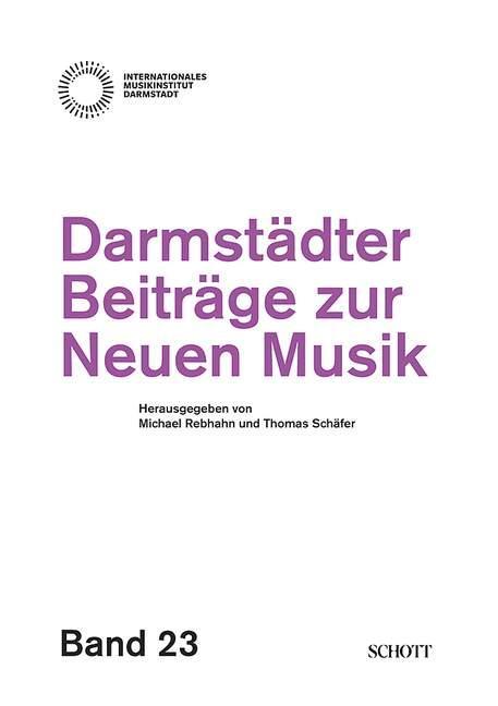 Cover-Bild Darmstädter Beiträge zur Neuen Musik