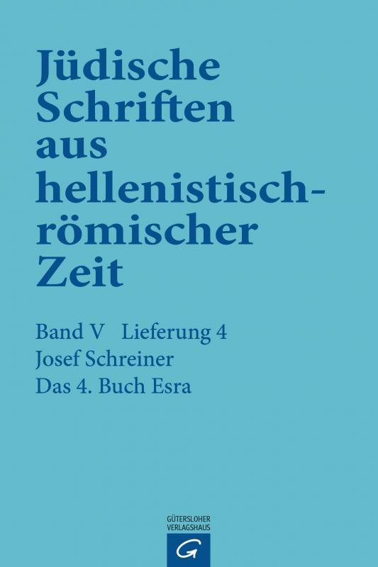 Cover-Bild Das 4. Buch Esra