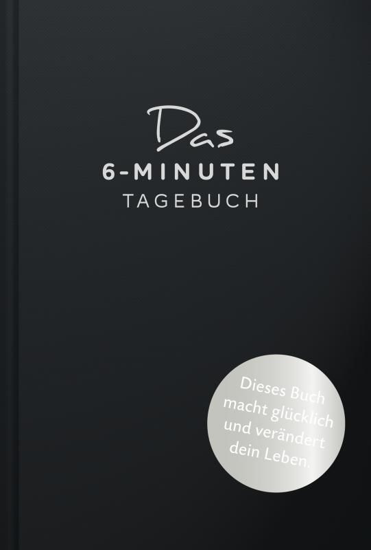 Cover-Bild Das 6-Minuten-Tagebuch (schwarz)