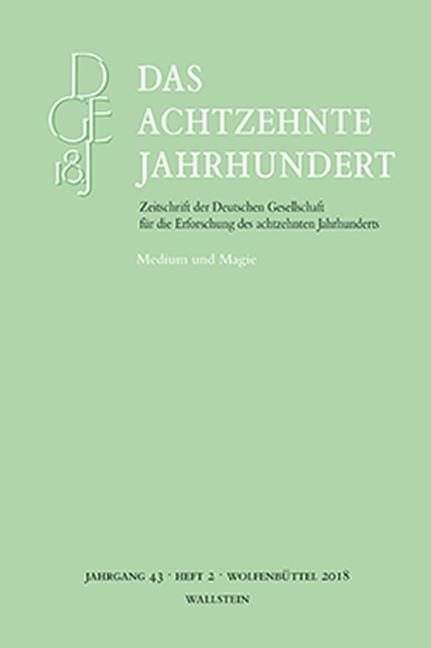 Cover-Bild Das achtzehnte Jahrhundert 43/2