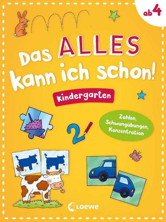 Cover-Bild Das alles kann ich schon! Kindergarten