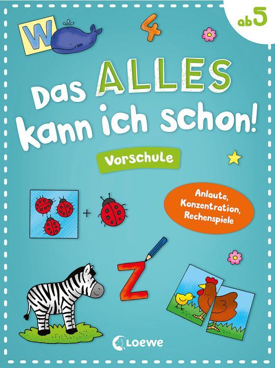 Cover-Bild Das alles kann ich schon! Vorschule