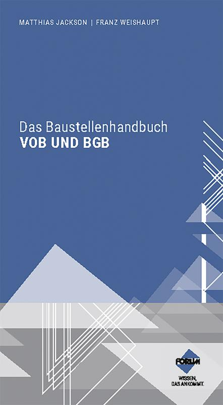 Cover-Bild Das Baustellenhandbuch VOB und BGB