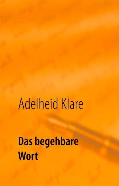 Cover-Bild Das begehbare Wort