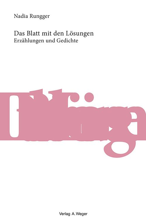 Cover-Bild Das Blatt mit den Lösungen