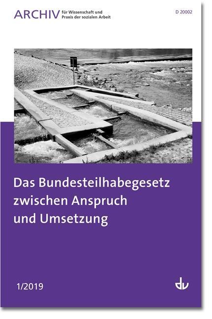 Cover-Bild Das Bundesteilhabegesetz zwischen Anspruch und Umsetzung