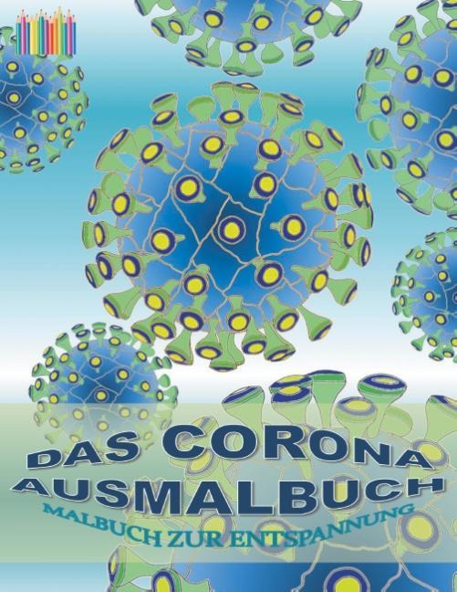 Cover-Bild Das Corona Ausmalbuch