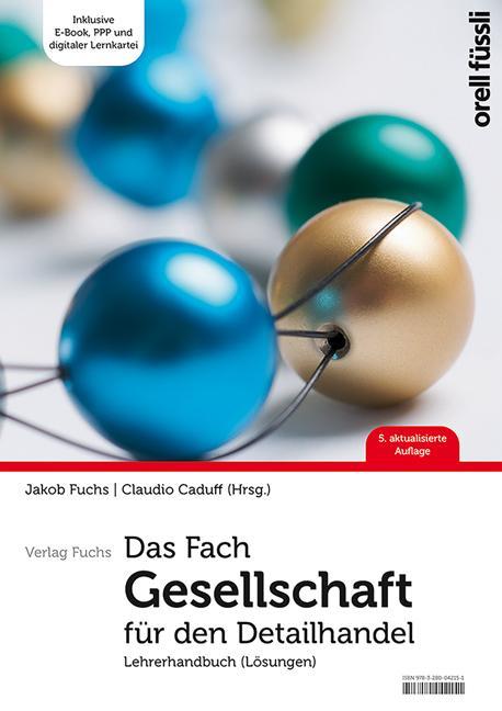 Cover-Bild Das Fach Gesellschaft für den Detailhandel – Lehrerhandbuch