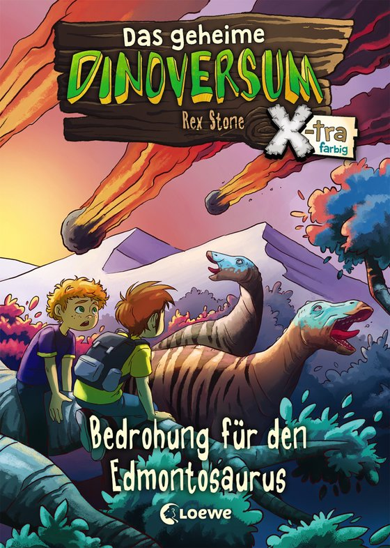 Cover-Bild Das geheime Dinoversum Xtra - Bedrohung für den Edmontosaurus